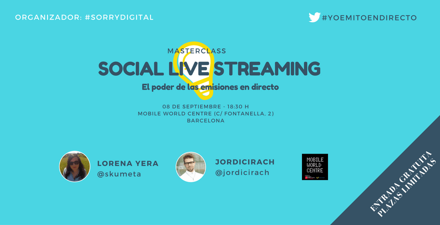 Masterclass_Social Live Streaming